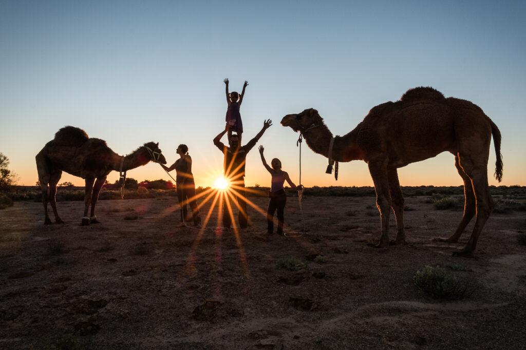 Australien, mit Kamelen durchs Outback - 07.03.2020
